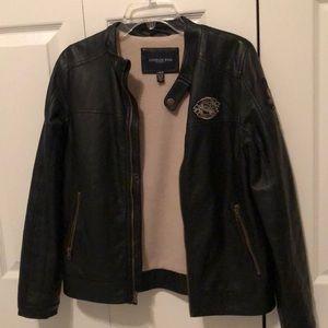 London Fog Leather Jacket